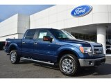 2014 Blue Jeans Ford F150 XLT SuperCrew 4x4 #102110362