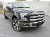 2015 Blue Jeans Metallic Ford F150 King Ranch SuperCrew 4x4 #102110434