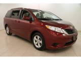 2012 Salsa Red Pearl Toyota Sienna LE #102147196