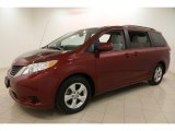 2012 Toyota Sienna Salsa Red Pearl
