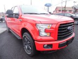 Race Red Ford F150 in 2015