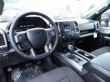 2015 Ford F150 XLT SuperCab 4x4 Black Interior
