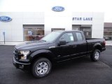 2015 Tuxedo Black Metallic Ford F150 XL SuperCab 4x4 #102147266