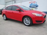2015 Race Red Ford Focus SE Sedan #102146877