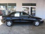 Black Chevrolet Cavalier in 2002