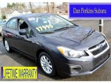2012 Dark Gray Metallic Subaru Impreza 2.0i Premium 4 Door #102146774