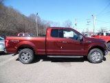 2015 Bronze Fire Metallic Ford F150 XLT SuperCab 4x4 #102146908