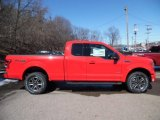 2015 Race Red Ford F150 XLT SuperCab 4x4 #102146907