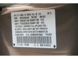 2015 CR-V Color Code for Urban Titanium Metallic - Color Code: YR578M