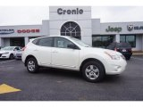 2013 Pearl White Nissan Rogue S #102147062