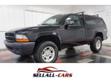 2003 Black Dodge Dakota Regular Cab 4x4 #102146759