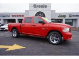 2015 Flame Red Ram 1500 Express Crew Cab #102147052