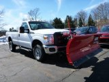 2015 Oxford White Ford F250 Super Duty XL Regular Cab 4x4 #102189947