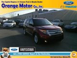 2014 Ruby Red Ford Explorer XLT 4WD #102190042
