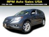 2012 Polished Metal Metallic Honda CR-V EX 4WD #102190174