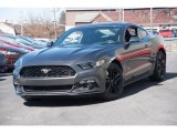 2015 Magnetic Metallic Ford Mustang EcoBoost Premium Coupe #102190009