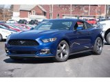 2015 Deep Impact Blue Metallic Ford Mustang V6 Coupe #102190006
