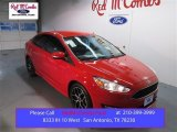 2015 Race Red Ford Focus SE Sedan #102222346