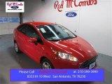 2015 Race Red Ford Fiesta SE Sedan #102222345