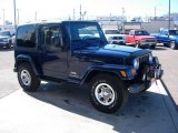 2003 Jeep Wrangler Patriot Blue