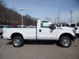 2015 Oxford White Ford F250 Super Duty XLT Regular Cab 4x4 #102241137