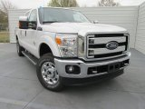 2015 Oxford White Ford F250 Super Duty XLT Crew Cab 4x4 #102241226