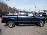 2015 Blue Jeans Metallic Ford F150 XLT SuperCrew 4x4 #102241136