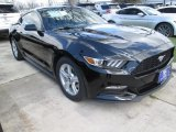 2015 Black Ford Mustang V6 Coupe #102241130