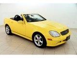 2001 Sunburst Yellow Mercedes-Benz SLK 320 Roadster #102241327