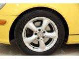 Mercedes-Benz SLK 2001 Wheels and Tires