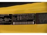 2001 SLK Color Code for Sunburst Yellow - Color Code: 685