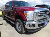 2015 Ruby Red Ford F250 Super Duty XLT Crew Cab 4x4 #102241117