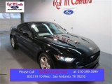 2015 Black Ford Mustang V6 Coupe #102263388
