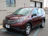 2013 Basque Red Pearl II Honda CR-V LX AWD #102263911