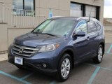 2012 Twilight Blue Metallic Honda CR-V EX-L 4WD #102263909