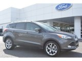 2015 Magnetic Metallic Ford Escape Titanium #102263542