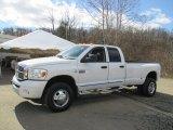 2009 Bright White Dodge Ram 3500 Laramie Quad Cab 4x4 Dually #102263450