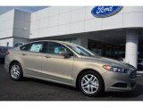 2015 Tectonic Silver Metallic Ford Fusion SE #102263540