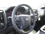 2015 Chevrolet Silverado 1500 WT Crew Cab 4x4 Black Out Edition Steering Wheel