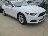 2015 Oxford White Ford Mustang V6 Coupe #102263400