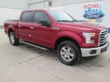 2015 Ruby Red Metallic Ford F150 XLT SuperCrew 4x4 #102263398