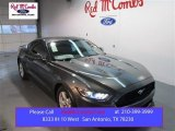 2015 Magnetic Metallic Ford Mustang V6 Coupe #102263391