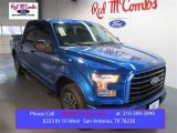 2015 Blue Flame Metallic Ford F150 XLT SuperCrew #102263390