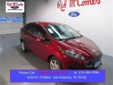 2015 Ruby Red Metallic Ford Fiesta SE Sedan #102263389