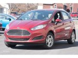 2015 Ruby Red Metallic Ford Fiesta SE Hatchback #102308274