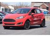2015 Race Red Ford Fiesta SE Hatchback #102308273