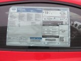 2015 Ford Mustang GT Premium Coupe Window Sticker