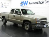 2003 Light Pewter Metallic Chevrolet Silverado 1500 Extended Cab #10229212