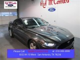 2015 Magnetic Metallic Ford Mustang V6 Coupe #102308154