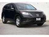 2012 Crystal Black Pearl Honda CR-V LX #102308290